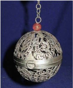 Chinese Export Silver Thurible