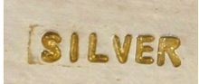 Chinese Silver Mark Post 1949
